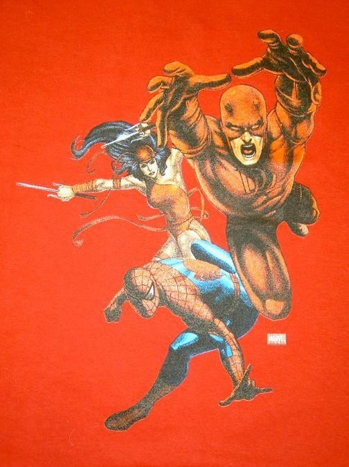 Daredevil Spiderman Graphic