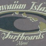Kurt's Kuston Promotions Hawaiian Island Surf Boards Graphic