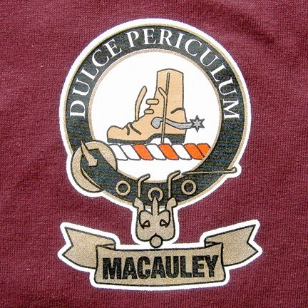Macualey Crest Graphic