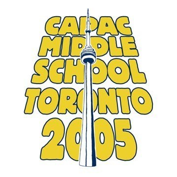 Capac Middle School Toronto Event Graphic