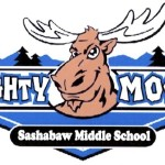 "Kurt's Kuston Promotions Sashabaw Middle School Mighty Moose"" Graphic"