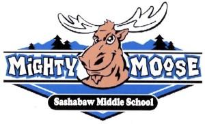 "Kurt's Kuston Promotions Sashabaw Middle School Mighty Moose"" Graphic"